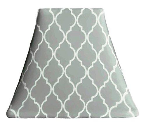 Quatrefoil Cloud - Custom Lamp Shade Slip Cover