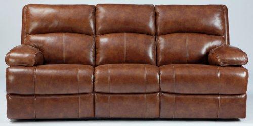 Lensar Reclining Sofa Standard/Nutmeg front-899727