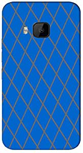 Timpax protective Armor Hard Bumper Back Case Cover. Multicolor printed on 3 Dimensional case with latest & finest graphic design art. Compatible with HTC M9 Design No : TDZ-22550