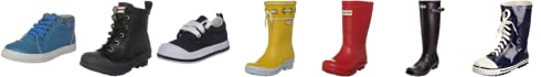 Hunter Kids Carnaby Fringe Waterproof Boot