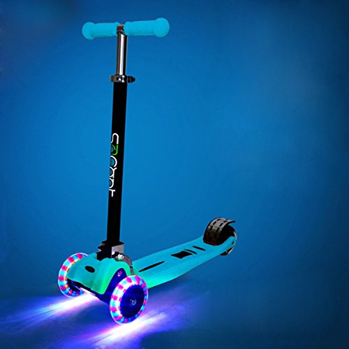 Rimable Foldable Max Kick Scooter With Led Light Up Wheels Color