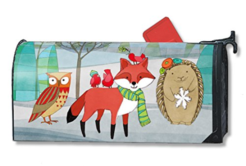MailWraps Woodland Friends Mailbox Cover 01056