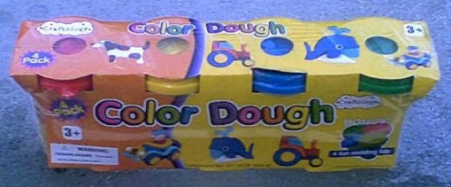 4 Pack Color Dough - Like Play-doh