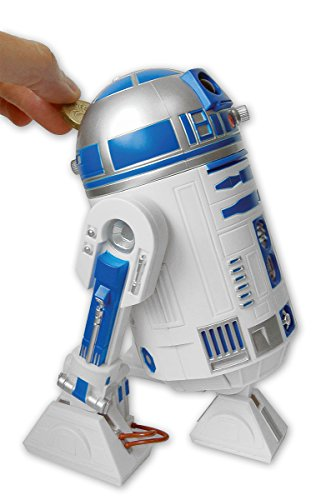 Star Wars Piggy Bank R2-D2 With Sound