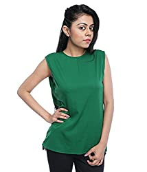 Tryfa Women's Top (Tryfa-63-S_Green_Small)