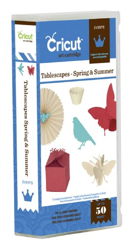 Cricut Tablescapes Spring and Summer Cartridge
