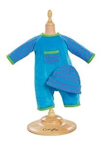 Corolle - W9029 - Vêtement Poupon 36cm - Mon Classique - Ensemble Turquoise