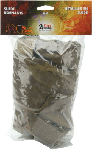 Suede Trim Pack - Earthtones 1/2 Pound