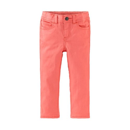 Tea Collection Girls 2-6 Skinny Ankle Pants, Guava (2)
