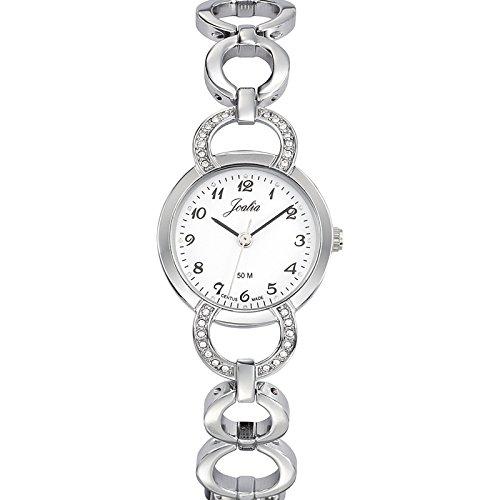 Joalia 633318 - Orologio da polso donna, metallo, colore: argento