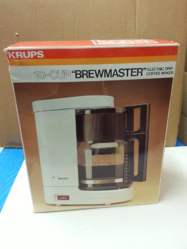 """Krups 10-Cup """" Brewmaster """" Electric Drip Coffee Maker/ Type 261 front-174038"""