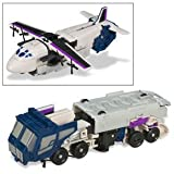 Transformers Universe Deluxe Class Classic Series Action Figure - Decepticon Tankor with Triple Changer (Robot, Tanker Truck and Trasnport Plane Modes) ~ Transformers