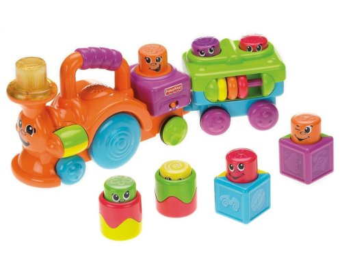 Fisher-Price Stacking Surprise Peek a Boo Choo