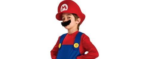 スーパーマリオブラザーズ マリオ Deluxe 衣装、コスチューム 子供用 サイズL