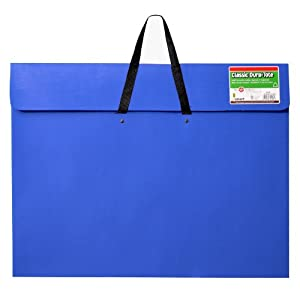 Star Products Classic Dura-Tote Artist Portfolio, 20 by 26-Inch, Blue