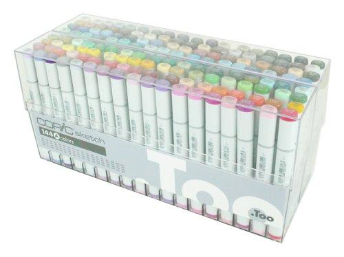 Too COPIC(コピック) マーカー スケッチ 144色セット 11777944