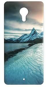Vcare Shoppe Printed Metallic Mobile Back case cover for Micromax Yu Yunicorn (Metallic)
