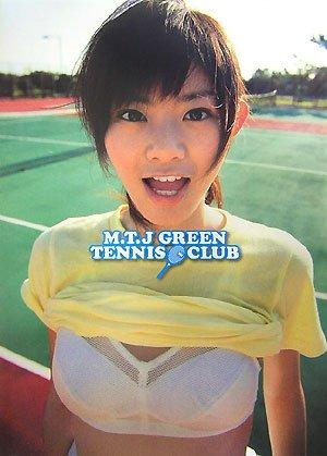 佐藤里香写真集M.T.J GREEN TENNIS CLUB