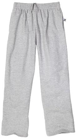 Russell Athletics - Kids Big Boys' Fleece pant, Heather Grey, 10/12