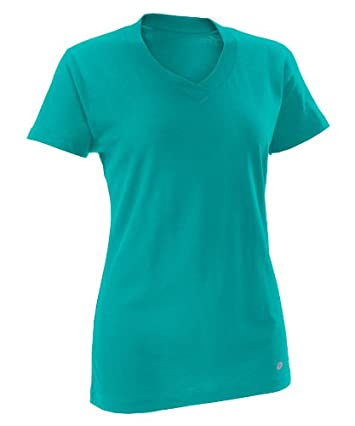 CLOSEOUT Russell Athletic Women's Dri-Power 360™ V-Neck Tee