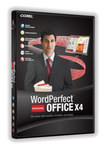Wordperfect Office X4 Professional [Old Version]