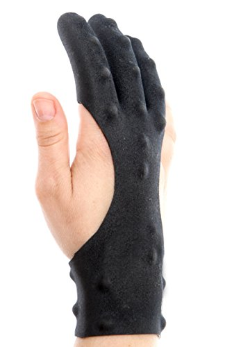 Dark Archer Tactical 3 Finger Shooting Archery Glove (Mens Sm) (Silicone Shooting Target compare prices)