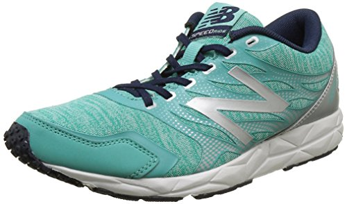 New Balance 590 - Scarpe Running Donna, Multicolore (Green/Silver 316), 38 EU
