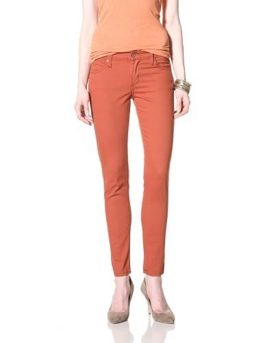 James Jeans Women's Skinny Jean  - Terra Cotta