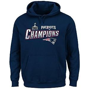 2015 NFL Super Bowl XLIX Champion New England Patriots Men's Strut VI Sweatshirt