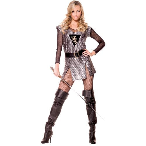 Lady Knight Adult Costume Size 16-18 X-Large