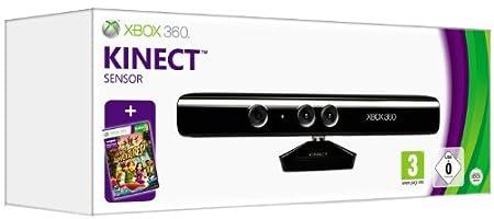 Kinect Sensor with Kinect Adventures (Xbox 360)