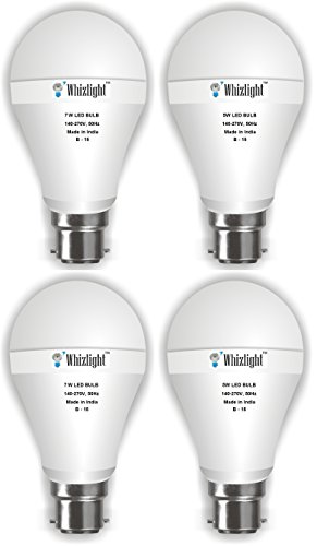 5W (Set of 2), 7W (Set of 2) Led Bulb (Cool Day Light)