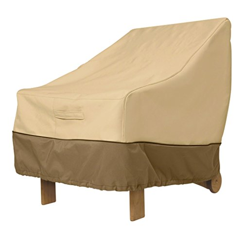 Classic Accessories 70912-WK Veranda Patio Lounge Chair Cover for Wicker Furniture, Large image