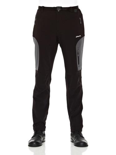 Goritz Tavern - Pantalón stretch para hombre, color negro/gris oscuro, talla S
