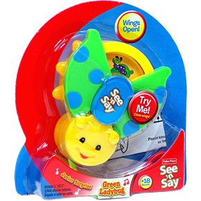 Fisher Price See 'N Say Junior Surprise - Green Ladybug - 1