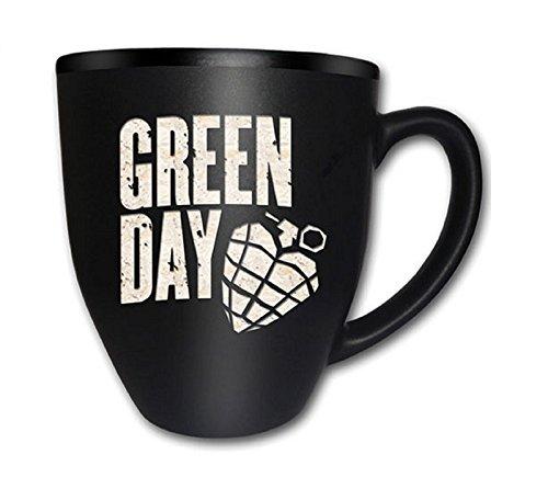 Green Day American Idiot - Tazza ufficiale, in confezione regalo, con incisione, colore: nero