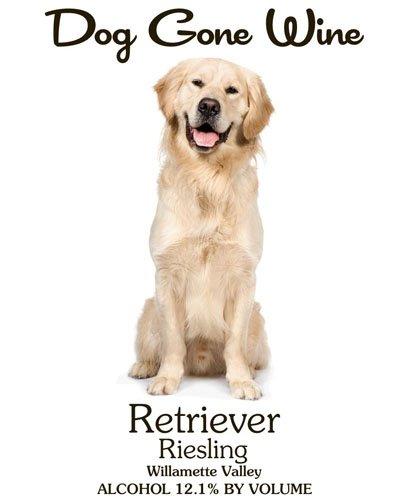 Nv Dog Gone Wine- Retriever Riesling 750 Ml