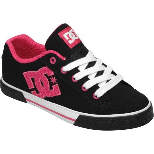 DC женщин's Челси TX тапки моды,черный/черный/Crazy…