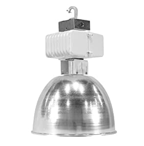 Howard Lighting HAL16O-400-HPS-4T High Bay with 16-Inch Aluminum Refractor with Die-Cast Housing and Electrical Box