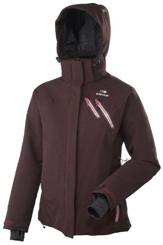 Eider Damen Wintersport Funktionsjacke ALAGNA, burnt red, 40