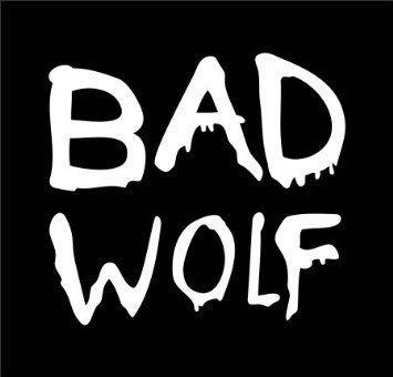 Dr Who Bad Wolf WHITE Vinyl Car/Laptop/Window/Wall Decal (Dr Who Car Window Decals compare prices)