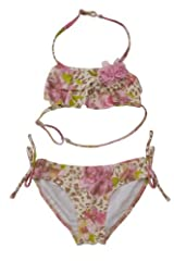 Kate Mack Girl's 2-6X On the Wild Side Bikini in Multi