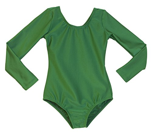 Girl's Dance Leotard Kelly Green
