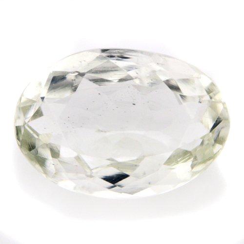 Natural Light Green Sillimanite Loose Gemstone Oval Cut 11*8mm 3.05cts VVS Grade