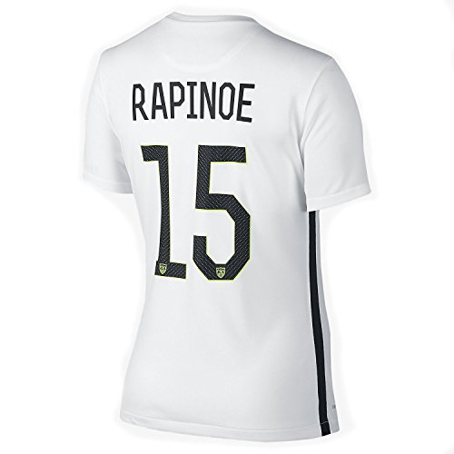 NIKE RAPINOE #15 USA Home Soccer Jersey Women's 2015-16(Authentic name and number of player)/サッカーユニフォーム アメリカ ホーム用 ラピーノ 背番号15 レディース向け (S)