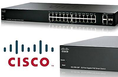 Cisco SG200-26FP Ethernet Switch - 26 Ports - 26 x POE - 10/100/1000Base-T