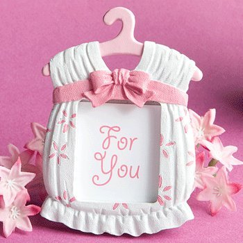 Cute baby themed photo frame favors - girl, 1