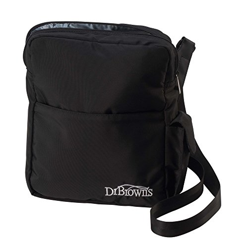 Dr. Brown's Insulated Bottle Tote, Black (Dr Brown Bottle Cooler Bag compare prices)