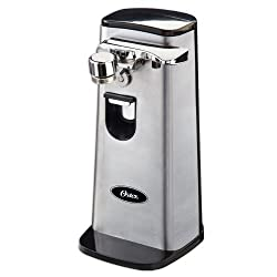 Oster FPSTCN1300 Electric Can Opener, Stainless Steel
