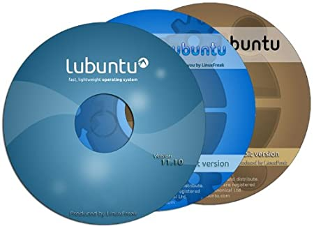 Ubuntu 11.10 with Reference Guide for Beginners - 3 Disk Set - Linux, Windows, Mac
